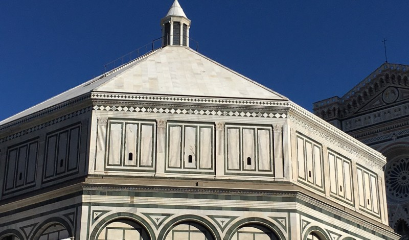 Restoration of Baptistery of San Giovanni in Florence